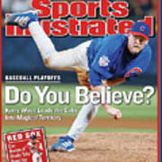 Do You Believe Kerry Wood Leads The Cubs Into Magical Sports Illustrated Cover Art Print