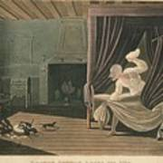 Doctor Syntax Loses His Wig, 1820 Art Print