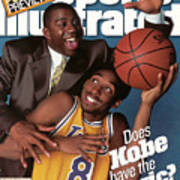 Does Kobe Have The Magic Sports Illustrated Cover Art Print
