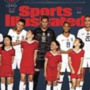 Dominate Today, Inspire Tomorrow 2019 Womens World Cup Sports Illustrated Cover Art Print