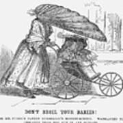 Dont Broil Your Babies, 1859 Art Print