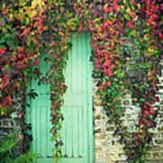 Door To The Secret Garden Art Print