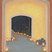 Doorway To The Festival Of Lights Art Print