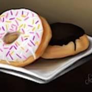 Doughnut Life Art Print