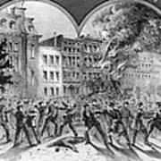 Draft Riots Art Print