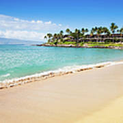 Dream Beach Napili Bay Maui Hawaii Art Print