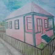 Dream Cottage Art Print