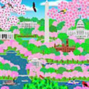 Dream Of Washington Dc Art Print