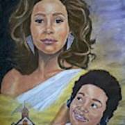 Dreams Do Come True. Whitney Art Print