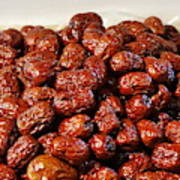 Dried Chinese Red Dates Art Print