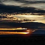 Dual Sunstars At Nipple Bench Sunrise Art Print