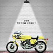 Ducati 900 Super Sport Art Print