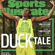 Duck Tale 2016-17 College Basketball Preview Issue Sports Illustrated Cover Art Print