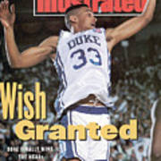 Duke University Grant Hill, 1991 Ncaa National Championship Sports Illustrated Cover Art Print