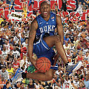 Duke University Nolan Smith, 2011 March Madness College Sports Illustrated Cover Art Print
