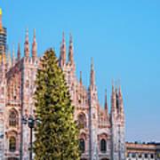 Duomo Di Milano At Christmas Art Print