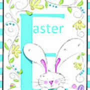 E For Easter Art Print