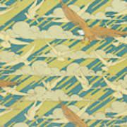 Eagles And Pigeons Art Print