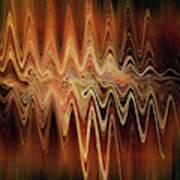 Earth Frequency Art Print