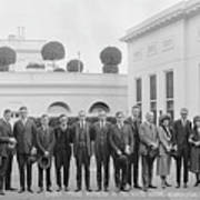 Edison Prize Winners At The White Art Print
