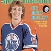 Edmonton Oilers Wayne Gretzky Sports Illustrated Cover Art Print