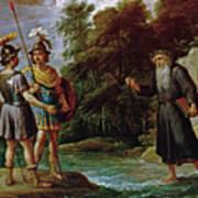 El Mago Descubre A Carlos Y Ubaldo El Paradero De Reinaldo  Art Print