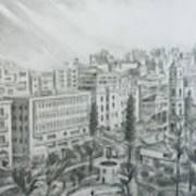 El Mansheya Park - Tripoli Art Print