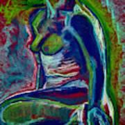 Electric Nude Art Print