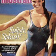 Elle Macpherson Swimsuit 1987 Sports Illustrated Cover Art Print