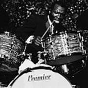 Elvin Jones On Drums Art Print