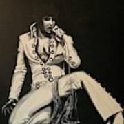 Elvis 1970 - Concho Suit Art Print