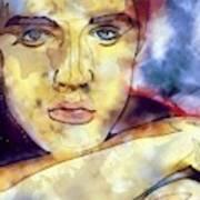 Elvis Presley 3 Art Print