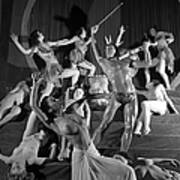 England. 1949. French Dance Troupe Les Art Print