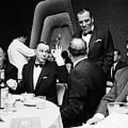 Entertainer Frank Sinatra Giving The Ok Art Print