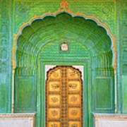 Entrance To Palace Art Print