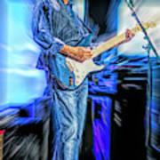 Eric Clapton Slowhand Art Print