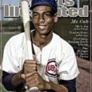 Ernie Banks, 1931 - 2015 Special Tribute Issue Sports Illustrated Cover Art Print