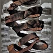 Escher 104 Art Print