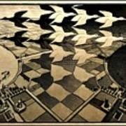 Escher 116 Art Print