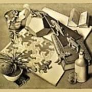 Escher 119 Art Print