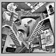 Escher 131 Art Print