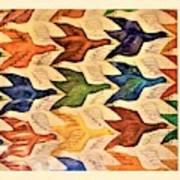 Escher 182 Art Print