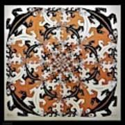 Escher 65 Art Print