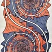 Escher 69 Art Print