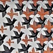 Escher 7 Art Print