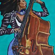 Esperanza Spalding Art Print