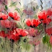 Everything About Poppies Art Print
