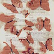 Exotic Scripts Art Print