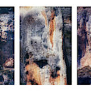 Texture Of Rocks In Canyon   Art Print