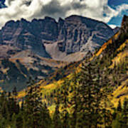 Fall At Maroon Bells Art Print